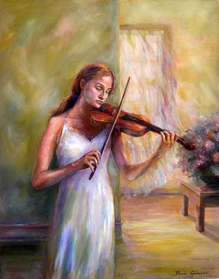 Painting - Violin Sonata by Bonnie Goedecke