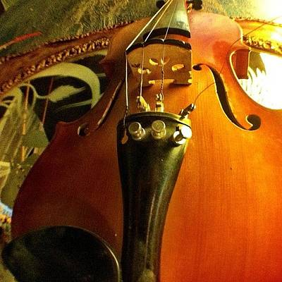 Violin Wall Art - Photograph - #violin #viola #music #art by Uriel Gonzalez