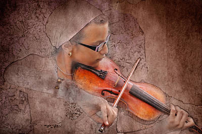 Photograph - Violin by Zoran Buletic