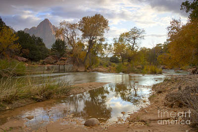 Virgin Reflections Art Print by Idaho Scenic Images Linda Lantzy