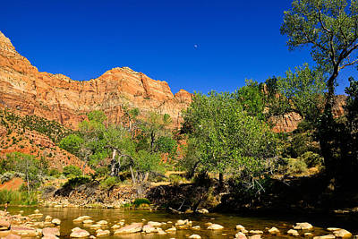 Photograph - Virgin River by Greg Norrell