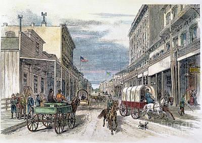 Virginia City, Nevada Art Print by Granger