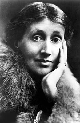 Woolf Photograph - Virginia Woolf In An Undated Photo by Everett