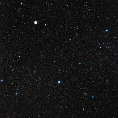 Virgo Constellation Art Print