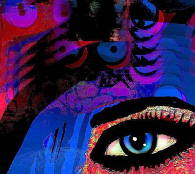 Abstract Sights Mixed Media - Vision by Natalie Holland