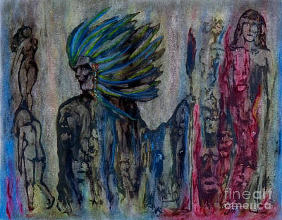 Visionary II Print by Linda May Jones