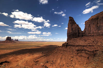 Photograph - Visions Of Monument Valley  by Saija  Lehtonen