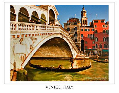 Photograph - Visions Of Venice by Nancy Morgantini
