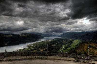Photograph - Vista House View by Brad Granger