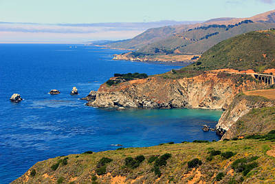 Us1 Photograph - Vista On The Pch by E Gibbons