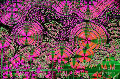 Vitamin C Crystals Spikeberg Print by M I Walker