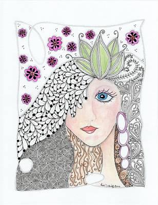 Vivian Art Print by Paula Dickerhoff
