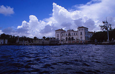 Photograph - Vizcaya East Side by Bob Whitt