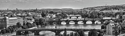 Vltava River Prague Art Print by Jason Wolters