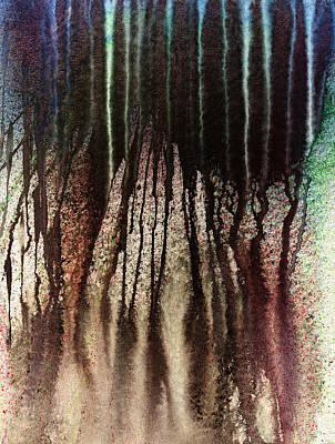 Lava Flow Painting - Volcanic Eruption by Hakon Soreide