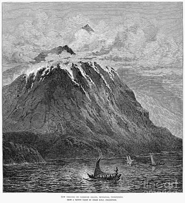 Photograph - Volcano: Mindanao, 1875 by Granger