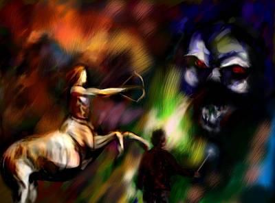 Digital Art - Voldemort by Parag Pendharkar