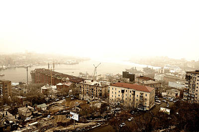 Photograph - Voldivostok Skyline by Allan Rothman
