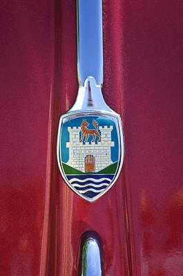 Photograph - Volkswagen Vw Hood Emblem by Jill Reger