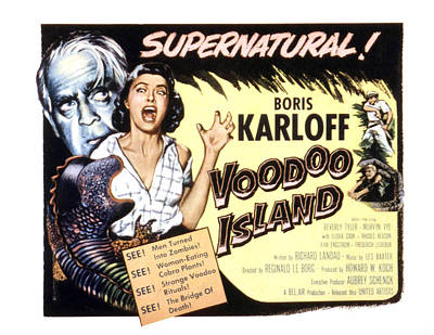 Voodoo Island, Beverly Tyler, Boris Art Print by Everett