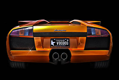 Orange Digital Art - Voodoo Italian Style by Douglas Pittman