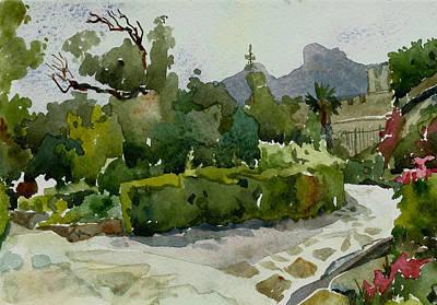 Vorontsovsky Park Art Print by Natalia Sinelnik