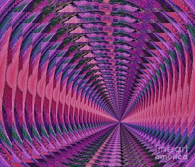Vortex Art Print by Marsha Heiken