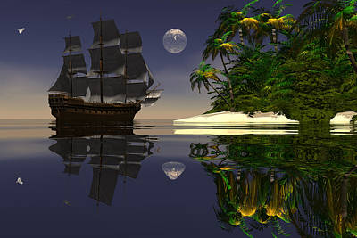 Digital Art - Voyage Of Discovery by Claude McCoy