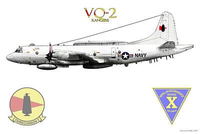 Vq-2 Rangers Art Print by Clay Greunke