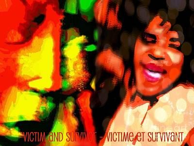 Intervention Mixed Media - VS1 by Fania Simon