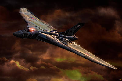 Digital Art - Vulcan by Chris Lord