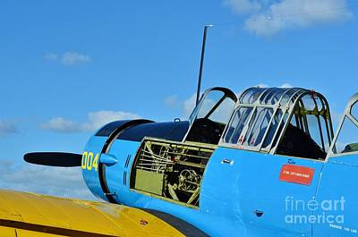 Vultee Bt-13 Valiant  Print by Lynda Dawson-Youngclaus