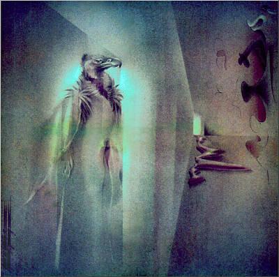 Pastel - Vulturescape 1982 by Glenn Bautista
