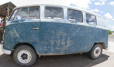 Photograph - Vw Bus With Perfect Patina by Gregory Scott