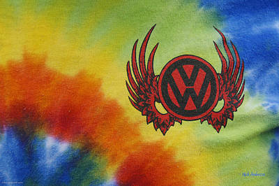 Photograph - Vw Club Logo by Mick Anderson