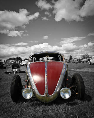Hot Rod Photograph - Vw Rat by Steve McKinzie