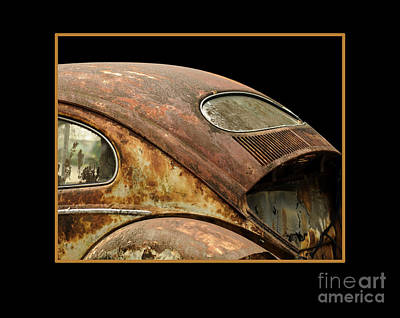 Vw Rust Bug Art Print