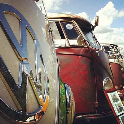 Iphone 4 Photograph - #vw Splity by Doc Ward