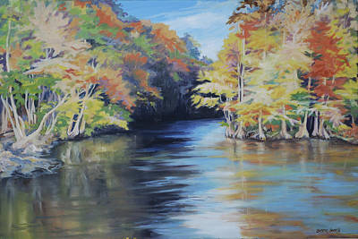 Painting - Waccamaw Autumn by Sharon Sorrels