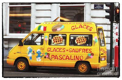 Photograph - Waffle Truck by John Rizzuto