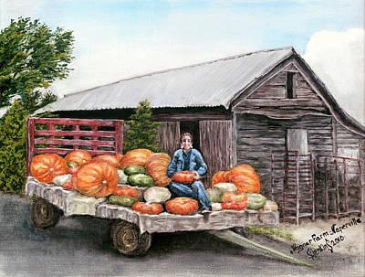 Wagner Farm Naperville Illinois Art Print