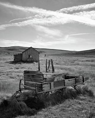Photograph - Wagon At Bodie by Matt MacMillan
