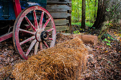 Photograph - Wagon Daze by Gene Hilton
