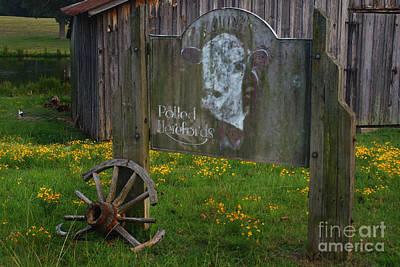 Wagon Wheels Photograph - Wagon Wheel Farm by Benanne Stiens