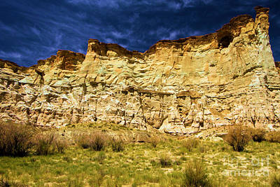 Photograph - Wahweap Cliff by Adam Jewell