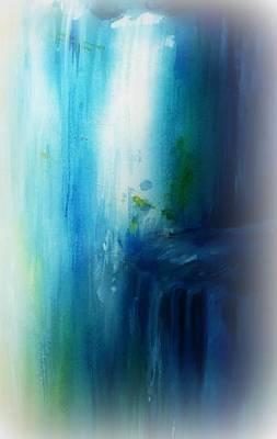 Painting - Wai'ilikahi Falls  by Wendy Wiese