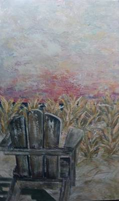 Painting - Waiting by Doralynn Lowe