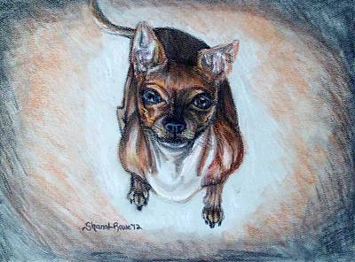 Painting - Waiting For A Treat by Shana Rowe Jackson