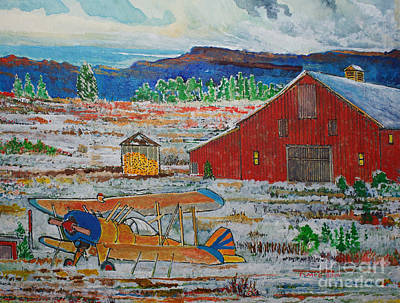 Waiting For Better Weather Art Print by Donald McGibbon