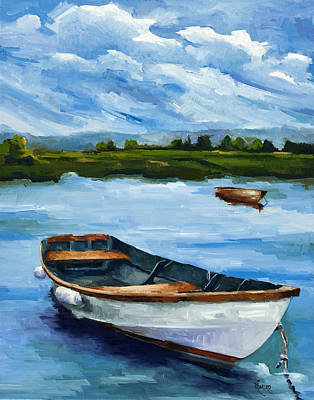 Painting - Waiting For Fish by Jose Romero
